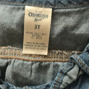 OshKosh B'gosh Dresses - Oshkosh 3t jean dress